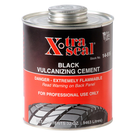 Black Vulcanizing Cement (Heat only) 0.95 l