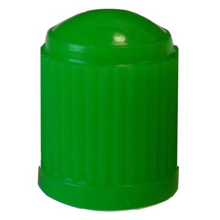 Plastic Valve Cap Green - pack of 100