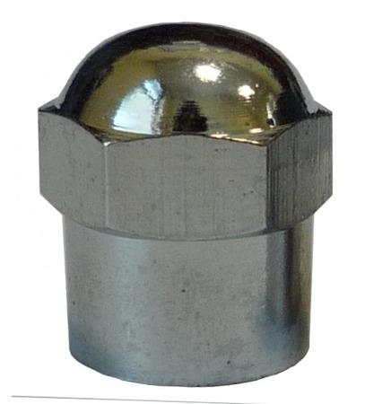 Kapturek zaworu metalowy chromowany (op.100szt.)