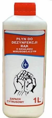 Płyn do dezynfekcji rąk wirusobójczy 4-HAND PREMIUM 1 litr